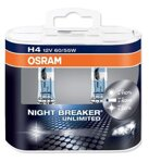 Autožiarovka H4 Osram Night Braker Unlimited