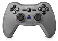 Gamepad 3v1 Canyon CNS-GPW6, bezdrôtový, dual-shock, PC/PS2/PS3