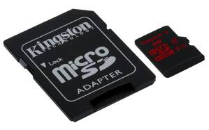 Karta microSDHC Kingston Class U3 UHS-I + adapter 32GB